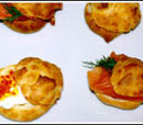 Herbed Gougere Puffs