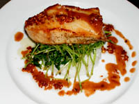 Marinated Grilled Sea Bass