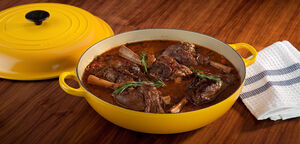 Rosemary braised lamb shanks full