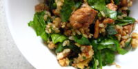 Balsamic Chicken and Brown Rice Salad