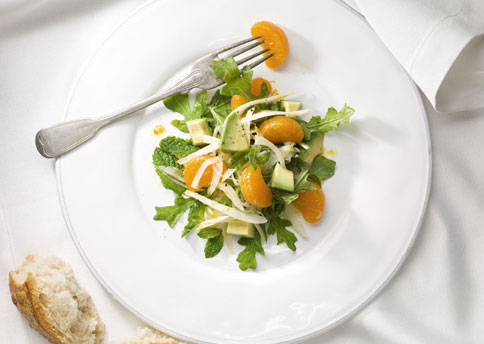 File:Mare fennel avocado and clementine salad with wild arugula and mint h.jpg