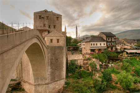 File:Old town Mostar.jpg