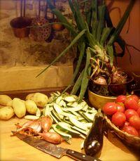 Garden casserole