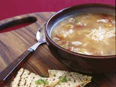 Texan Chicken & Rice Soup