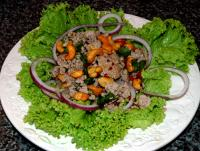 File:Nam Sod (Pork Salad with Mint, Peanuts and Ginger).jpg