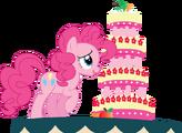 Pinky pie and marzipan mascarpone meringue madness by pawarmy-d5gtuod