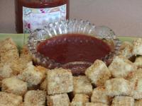 File:Deep Fried Tofu With Asian Plum Sauce or Thai Peanut Sauce.jpg