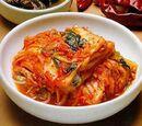 Spicy Kimchi Mushroom Pancakes