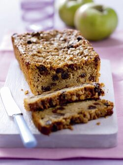 Easy Bramley Apple and Sultana Bread image