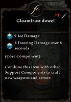 Gloamfrost dowel
