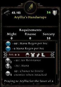 Aryllia's Handwraps