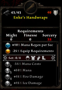 Enke's Handwraps