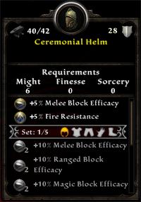 Ceremonial Helm
