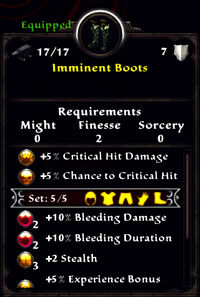 Imminent boots