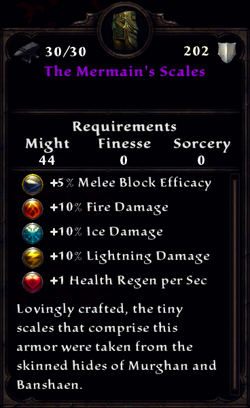 The Mermain's Scales Inventory