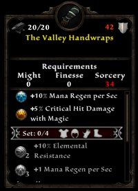 The valley handwraps