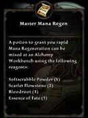 MasterManaRegen
