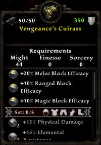 Vengeance's Cuirass