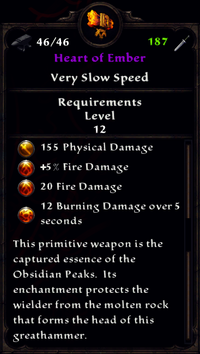 Heart of Ember Inventory