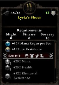 Lyria's Shoes
