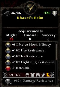 Khas-ti's Helm