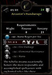 Arcanist's Handwraps