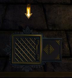 Secret entrance
