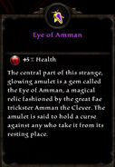 Eye of amman