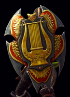 House of Ballads Shield Model