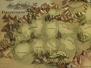 Dalentarth-map