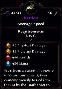 Bastion Inventory