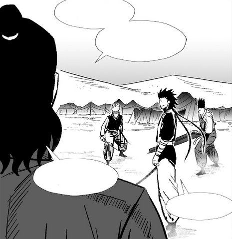 File:Haisha interrupts Yulian vs Shubeon and Trickle training duel.png