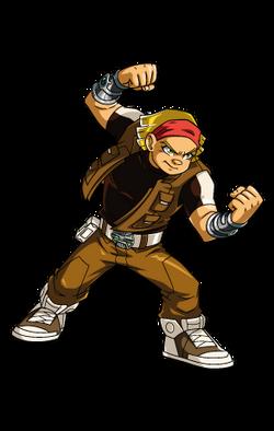 Redakai characters boomer