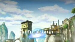 The fall of lokar