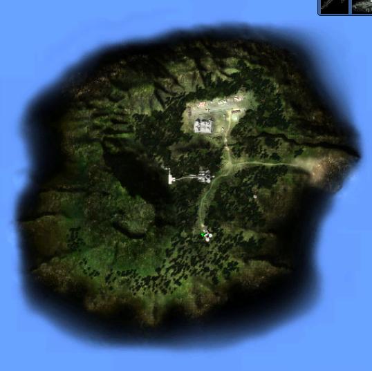 Island X map