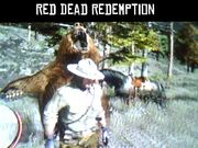 Marston about to get mauled by a bear Kernel Popanator