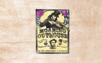 Rdr advert moaning outhouse poster