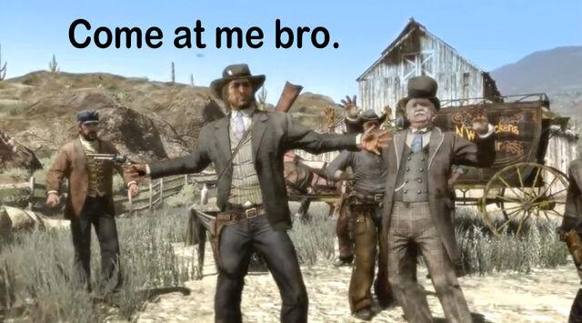File:Come at me bro by uknowwhy-d3jw7mu.jpg