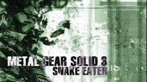 Metal Gear Solid 3 Snake Eater Soundtrack Snake Eater