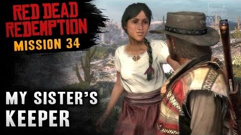 Red Dead Redemption - Mission 34 - My Sister's Keeper (Xbox One)
