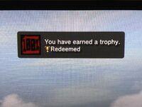 Redeemed-trophy