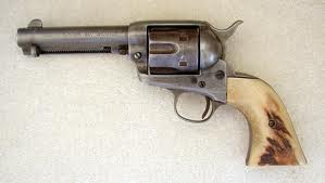 File:Colt Single Action Army Frontier Six-Shooter from 1910 with one-piece ivory grips - .44-40 Win..jpg