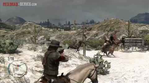 The Mexican Wagon Train (Gold Medal) - Mission 33 - Red Dead Redemption
