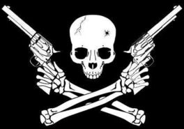 Small skull and crossed guns2
