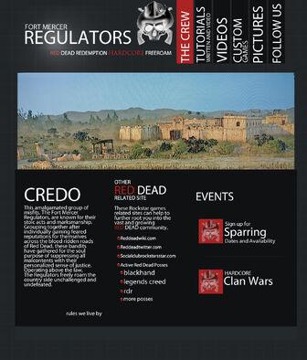 Regulators site