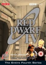 Red Dwarf IV UK DVD Cover
