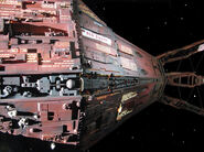 Red dwarf the red dwarf j m c mining ship by doctorwhoone-d6o3ale