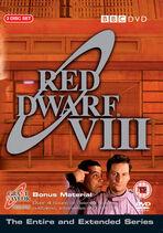 Red Dwarf VIII UK DVD Cover