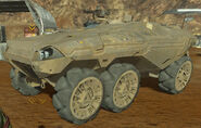EDF Armored Personnel Carrier Red Faction