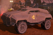 EDF Scout Car Red Faction